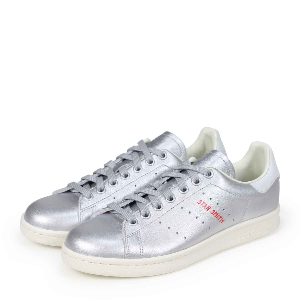 new arrival ab1d3 78473 adidas Originals STAN SMITH W Adidas originals Stan Smith Lady s sneakers  B41750 silver  load planned ...