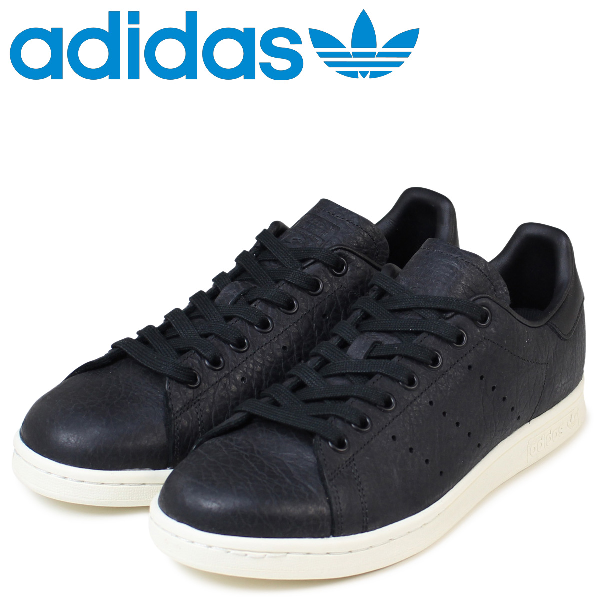 hot sale online 66499 cd73e Adidas Stan Smith adidas originals sneakers STAN SMITH men BB0037 shoes  black [1/17 Shinnyu load]