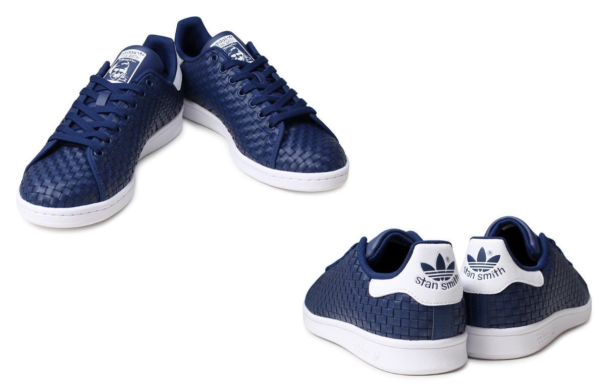 adidas Originals STAN SMITH Adidas Stan Smith sneakers men BB0050 blue  originals  183  36d339576
