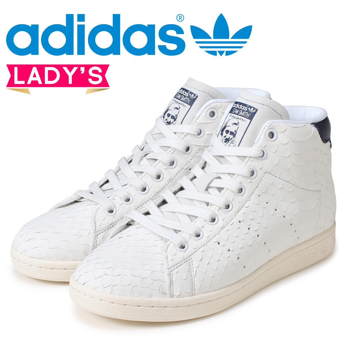 adidas Originals Stan Smith Lady's sneakers Adidas originals STAN SMITH MID W BB4862 shoes white