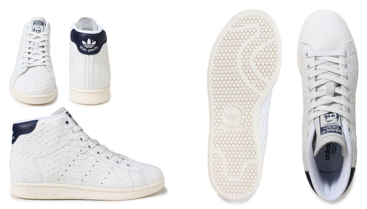 Adidas Stan Smith Womens sneakers adidas originals STAN SMITH MID W BB4862 shoes white originals [11 22 new in stock]