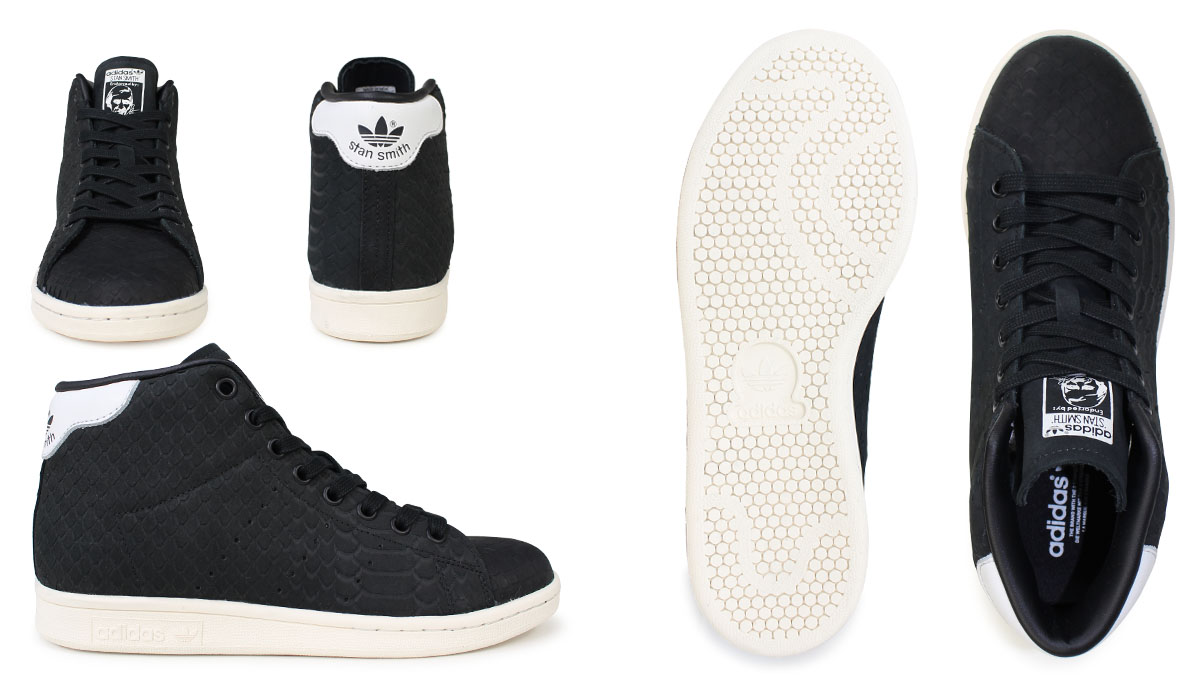 adidas Originals Stan Smith Lady's sneakers Adidas originals STAN SMITH MID W BB4863 shoes black