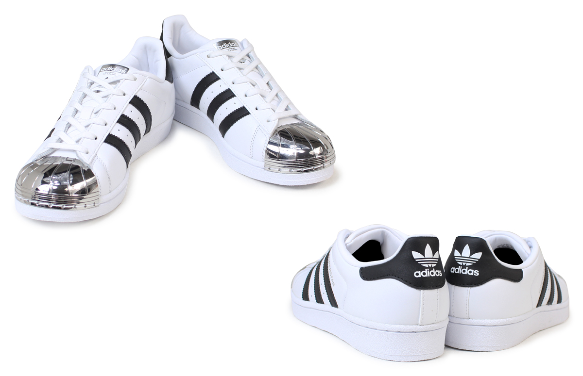 Adidas Superstar Metal Toe White