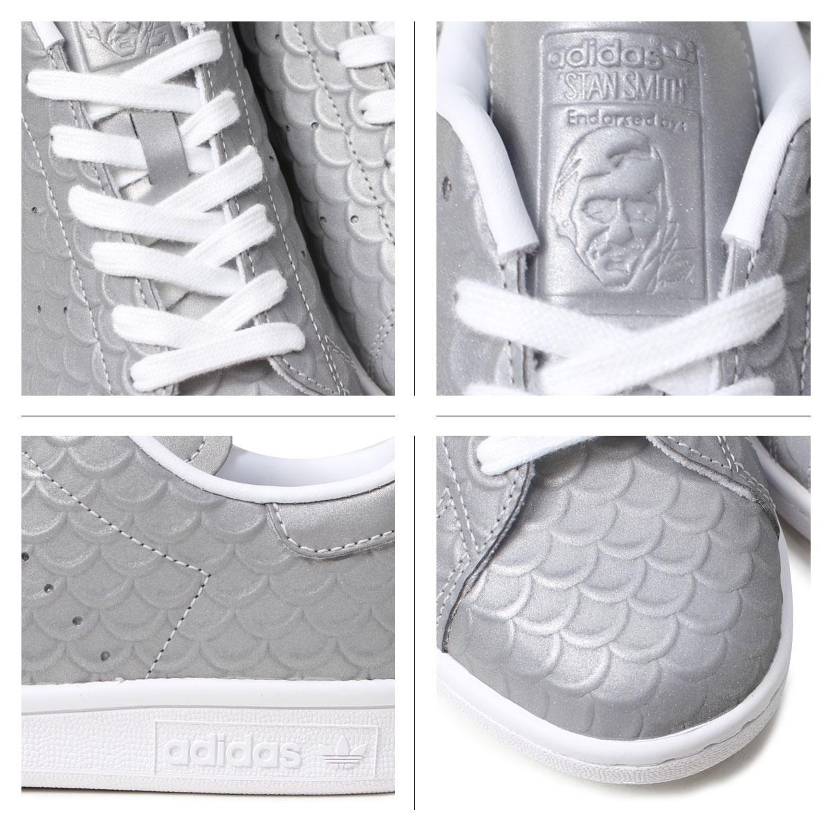 阿迪达斯Stan Smith女士运动鞋adidas originals STAN SMITH W BB5159鞋银子原始物[12/22新进货]