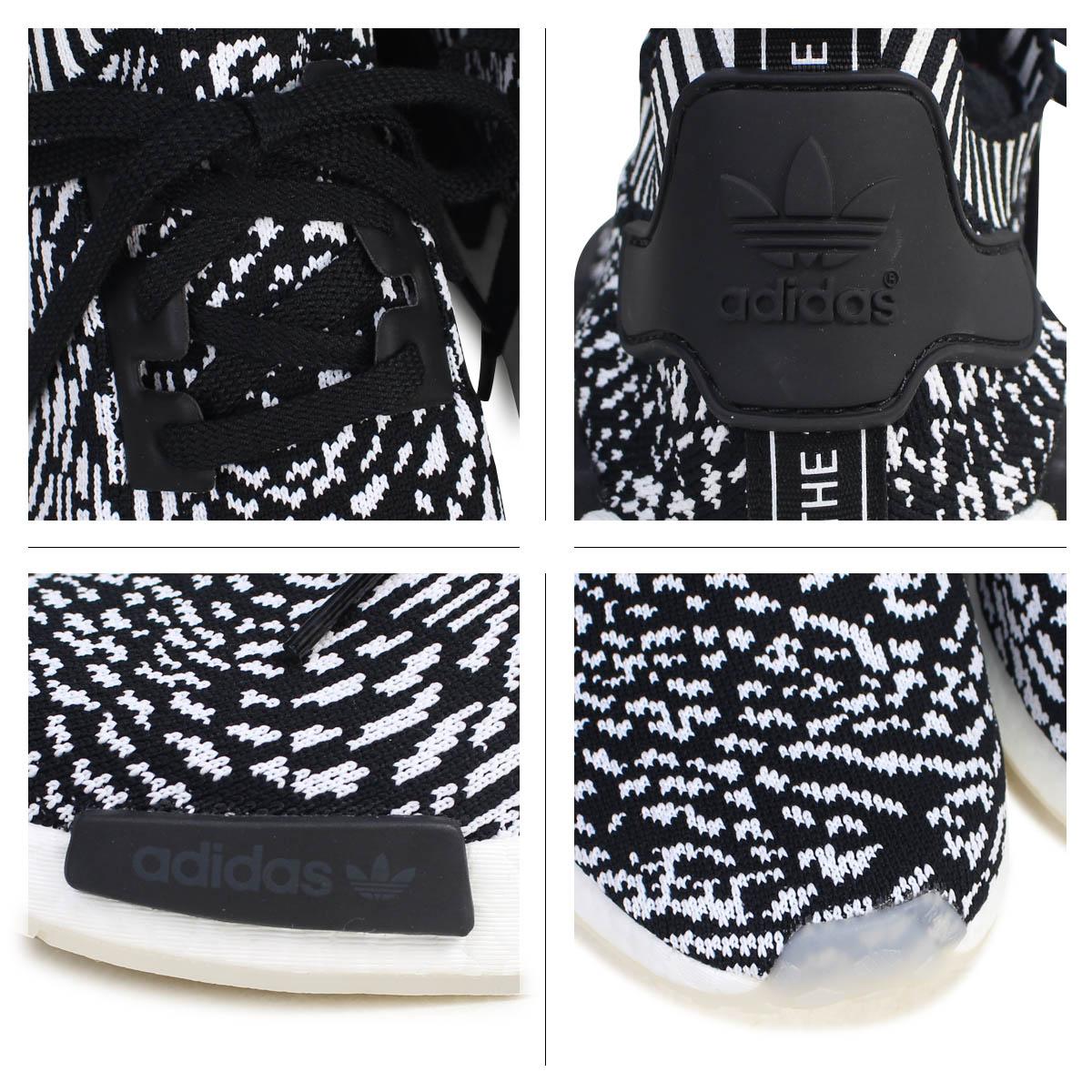 ce3176b26d749 adidas NMD R1 PK Adidas originals sneakers N M D nomad men BY3013 ZEBRA PACK  shoes black  8 16 Shinnyu load   178