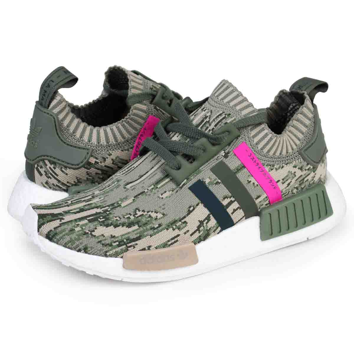 adidas originals NMD R1 PK Adidas sneakers nomad men gap Dis BY9864 shoes  green [load planned Shinnyu load in reservation product 10/19 containing]  [1710]