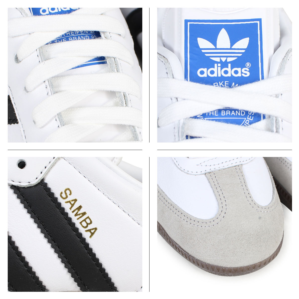 the latest 7408c dce92 adidas Originals SAMBA Adidas samba sneakers men BZ0057 white  1 30 Shinnyu  load   181