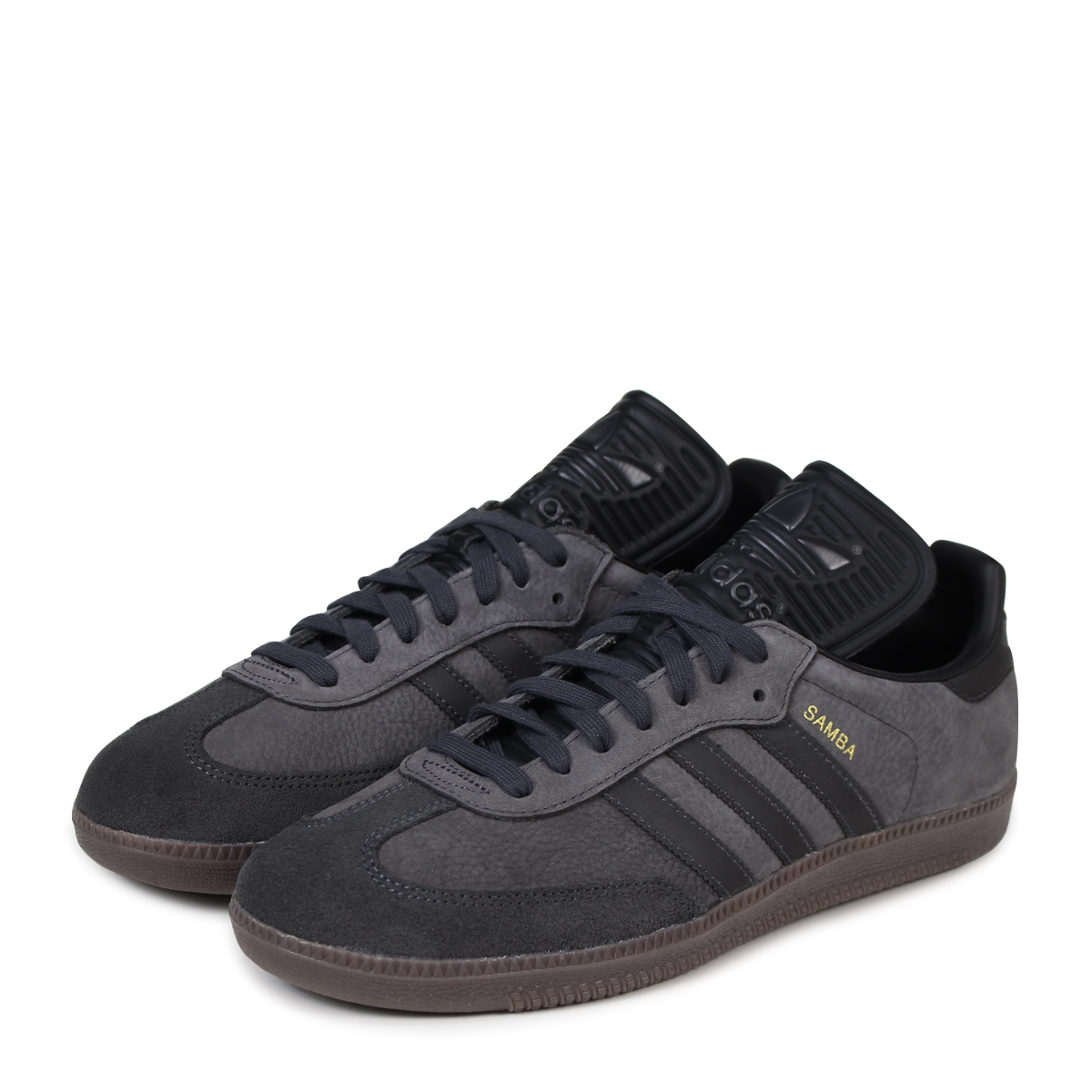 adidas Originals SAMBA CLASSIC OG Adidas samba sneakers men BZ0227 black originals [load planned Shinnyu load in reservation product 320 containing]