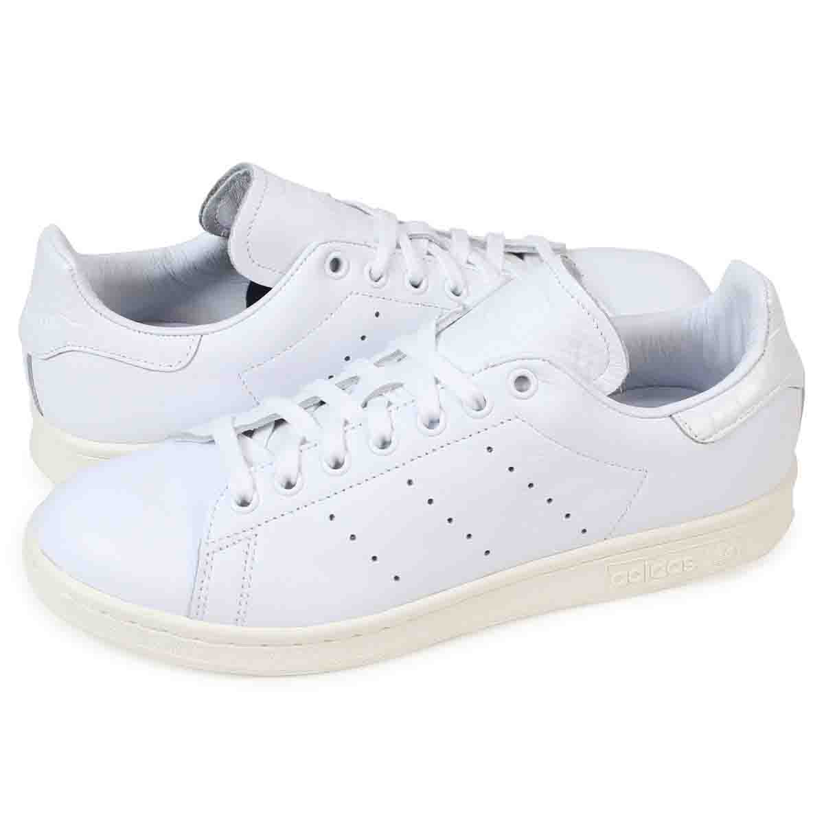 huge discount baebf 6c9b1 adidas originals STAN SMITH originals Stan Smith Adidas Lady's men sneakers  BZ0466 shoes white [load planned Shinnyu load in reservation product 12/7  ...