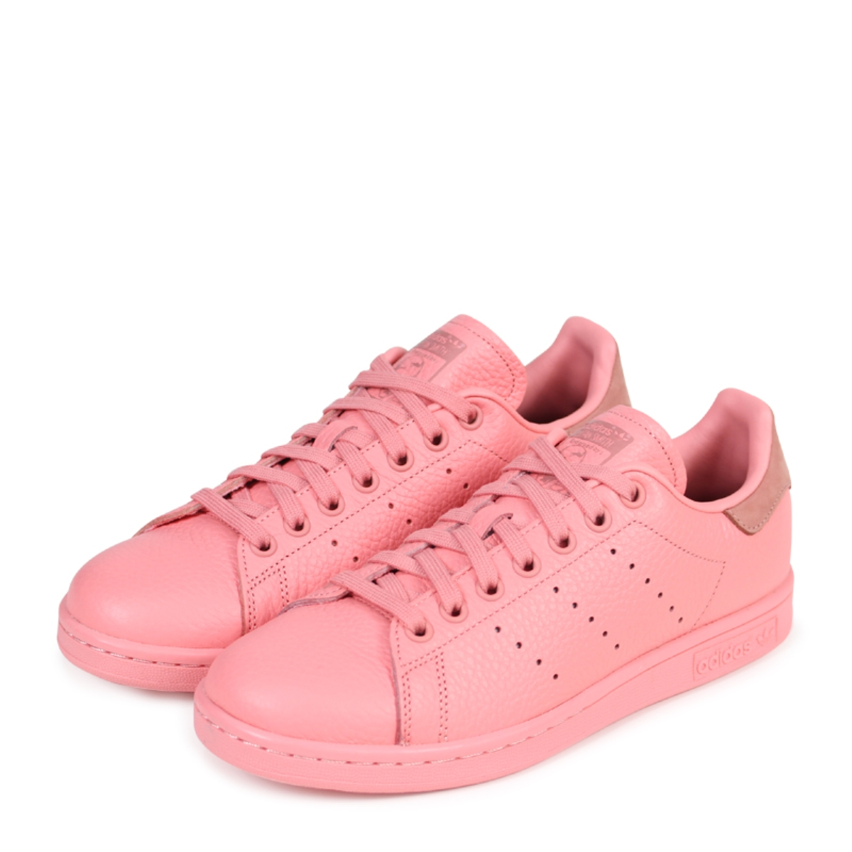 finest selection a39d2 f6947 adidas Originals STAN SMITH Adidas Stan Smith Lady's men sneakers BZ0469  pink originals [2/8 Shinnyu load] [182]