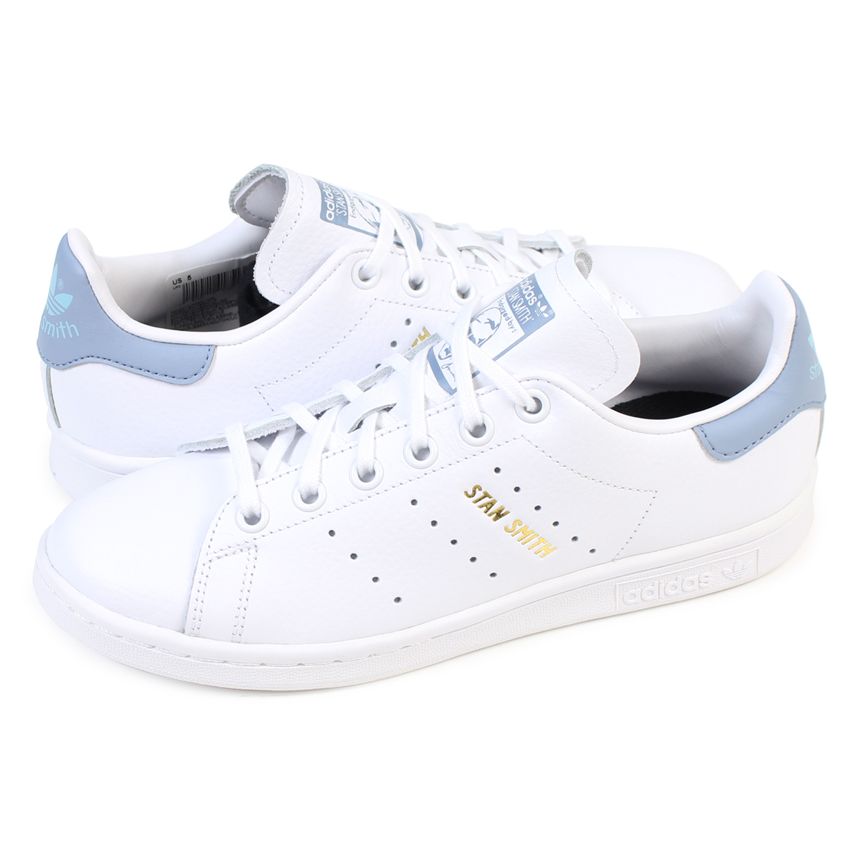 adidas originals STAN SMITH Adidas Stan Smith Lady's sneakers CP9810 shoes  white [load planned Shinnyu load in reservation product 9/28 containing]