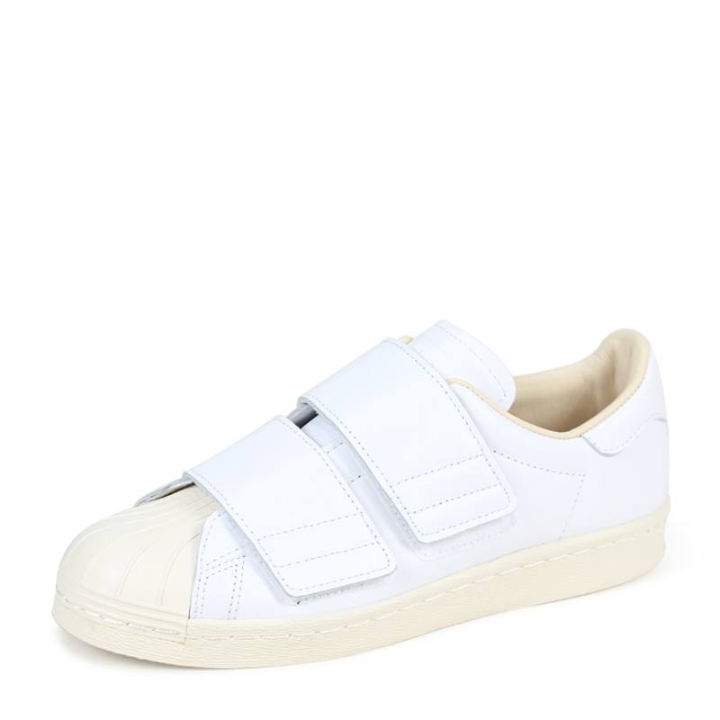 Sneakers Velcro CQ2447 white originals lady's for adidas Originals SUPER STAR VELCRO W Adidas superstar 80s [load planned Shinnyu load in reservation ...