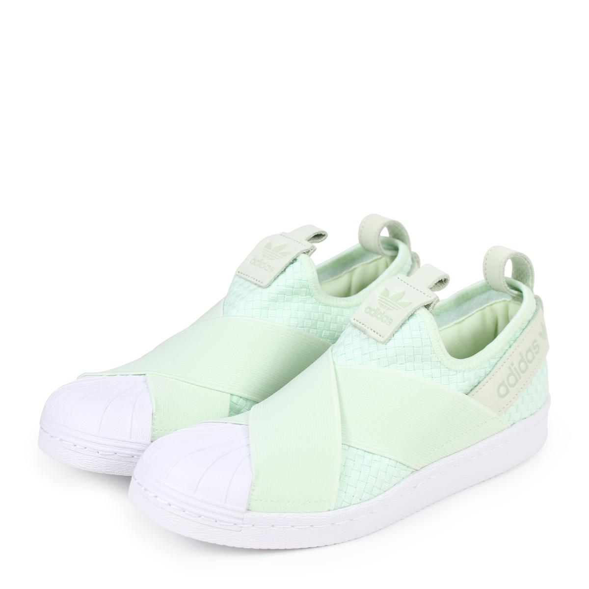 huge selection of 5aa14 93bad adidas Originals SS SLIPON Adidas originals superstar Lady s slip-ons  sneakers Q2488 green  184