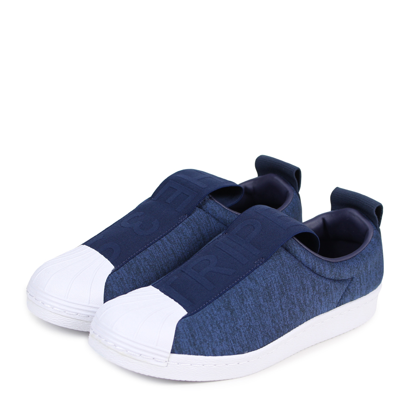 buy online 5c0ad 342d1 adidas Originals SUPER STAR BW3S SLIP-ON W Adidas originals superstar  Lady's sneakers slip-ons CQ2519 blue [183]