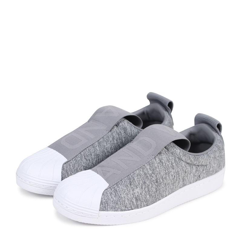 Lady's Adidas Super Superstar Cq2520 Star Gray183 Originals Ons On W Slip Sneakers Bw3s QrxBshCtod
