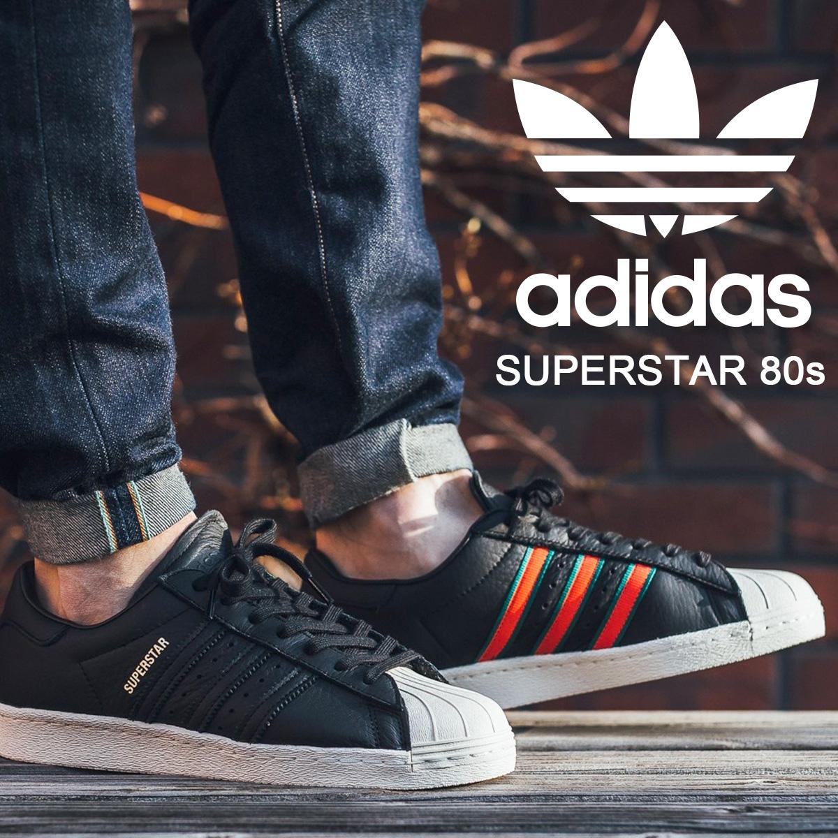 4457a56b7da6d adidas Originals SUPERSTAR Adidas superstar 80s sneakers men CQ2656 black  originals [2/13 Shinnyu load] [182]