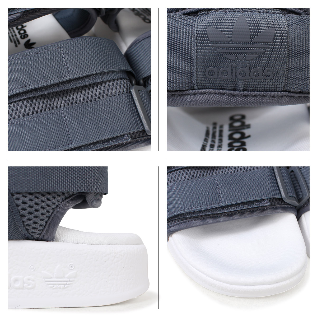 37088b69908b adidas Originals ADILETTE SANDAL 2.0W アディダスアディレッタサンダルレディースメンズ CQ2672 gray  originals  load planned Shinnyu load in reservation product ...
