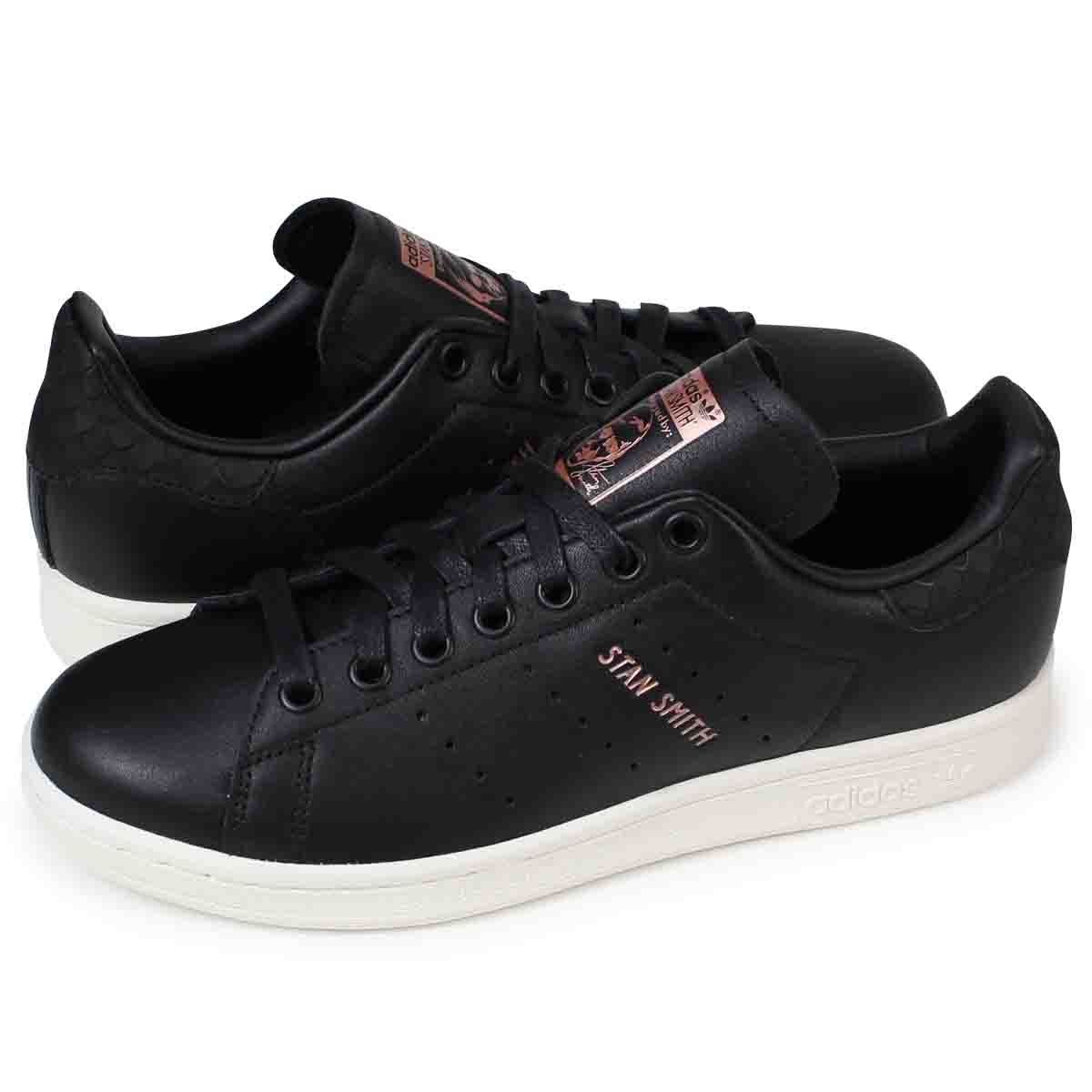 d2401874e10f1d ALLSPORTS  adidas originals STAN SMITH W Adidas Stan Smith Lady s sneakers  CQ2811 shoes black  12 7 Shinnyu load   1711