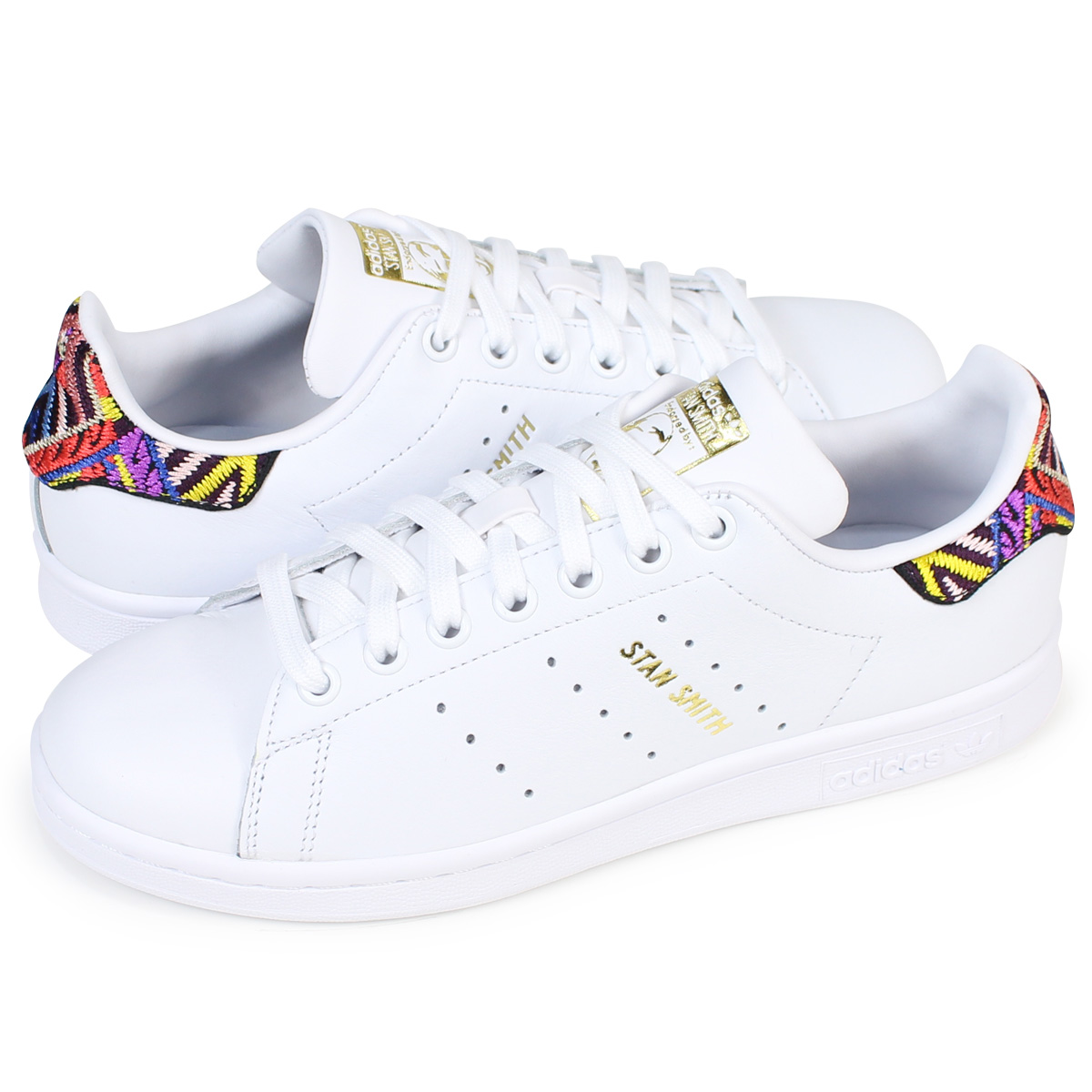 f2542e2263e2d adidas originals STAN SMITH W Adidas Stan Smith Lady's sneakers CQ2814  shoes white [load planned Shinnyu load in reservation product 12/21  containing] ...