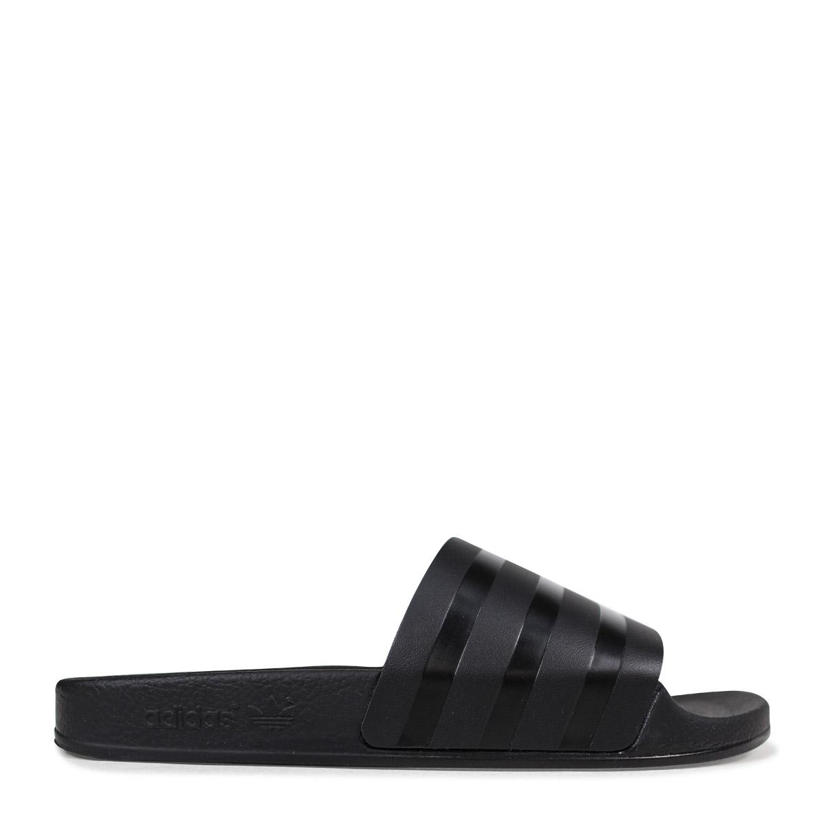 official photos d2b3e 00d1e アディダスアディレッタ adidas Originals sandals shower sandals ADILETTE SLIDES men  CQ3094 black originals  4 19 Shinnyu load