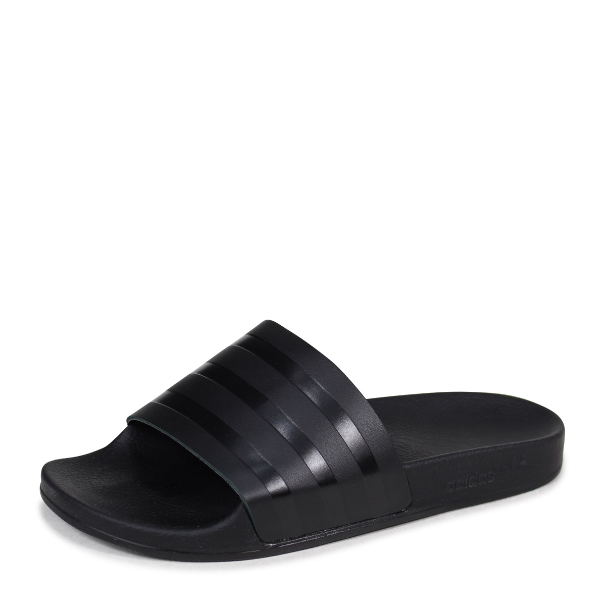 new style 84d64 d1491 アディダスアディレッタ adidas Originals sandals shower sandals ADILETTE SLIDES men CQ3094  black originals  4 19 Shinnyu load