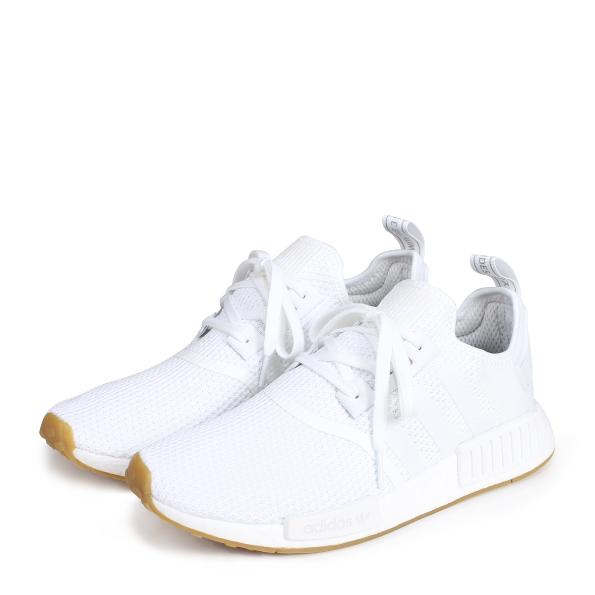 size 40 8d4c7 58273 adidas originals NMD R1 Adidas originals sneakers N M D nomad men D96635  white [load planned Shinnyu load in reservation product 7/7 containing]  [187]