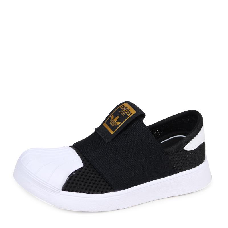 adidas superstar zwart baby