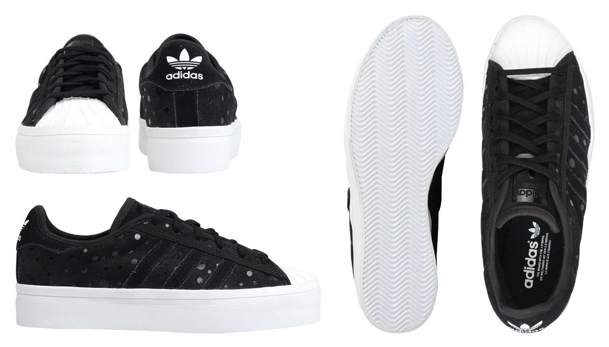 阿迪达斯原件阿迪达斯原件巨星运动鞋女子超级巨星 RIZE W S77406 男子鞋黑