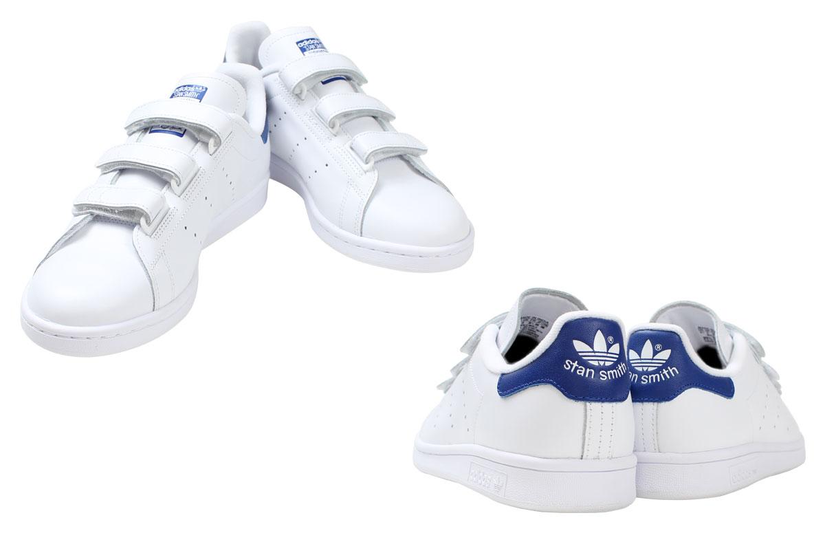 adidas Originals Adidas originals Stan Smith Velcro sneakers STAN SMITH CF S80042 men gap Dis shoes white