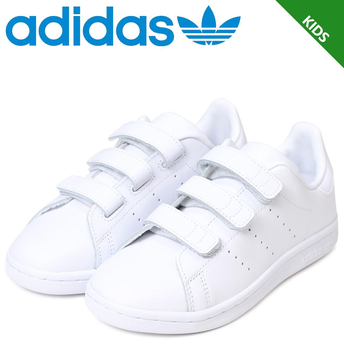 adidas Originals Stan Smith kids sneakers Adidas originals STAN SMITH CF C  BB2997 shoes white [172]