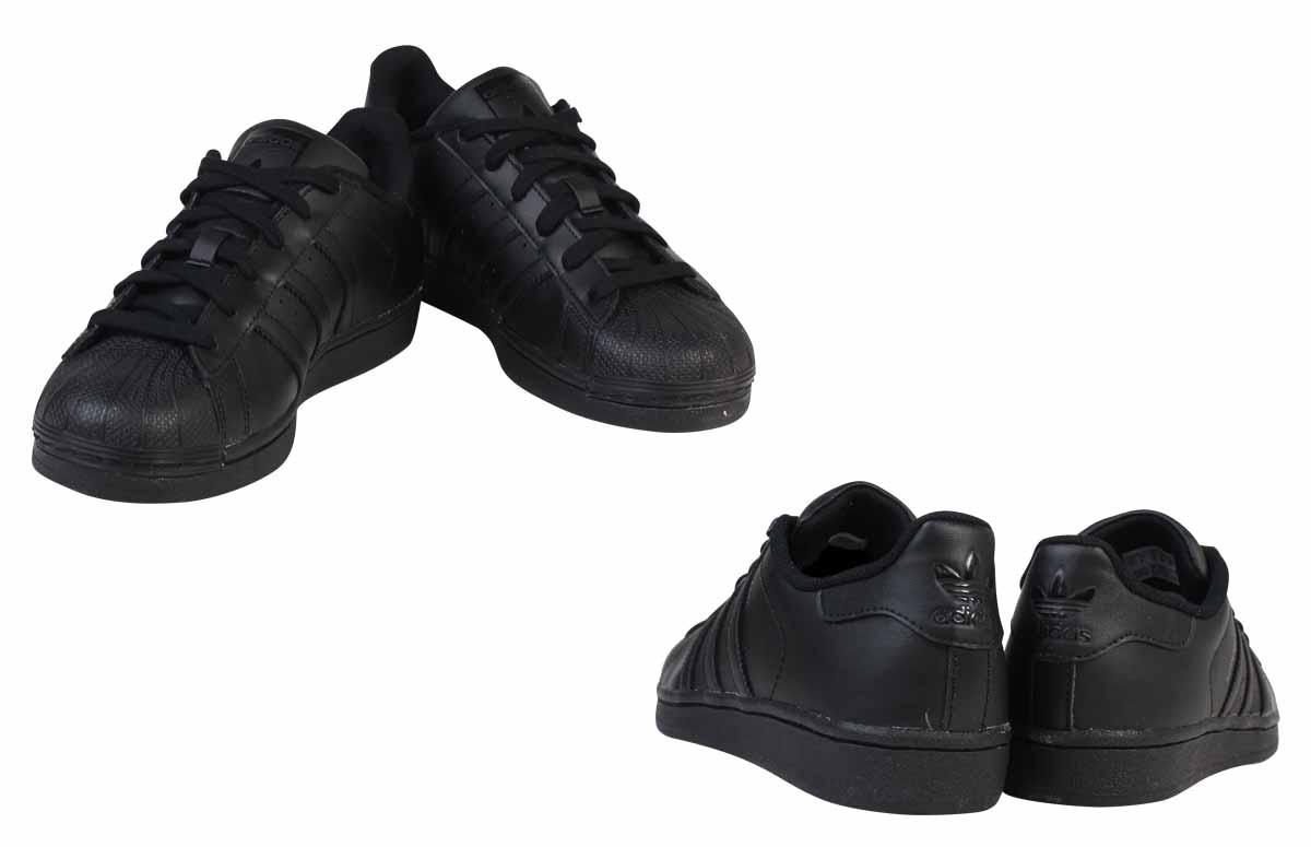 cheap for discount 58a06 3ddad adidas Originals Adidas originals superstar sneakers Lady's SUPERSTAR  FOUNDATION J B25724 shoes black