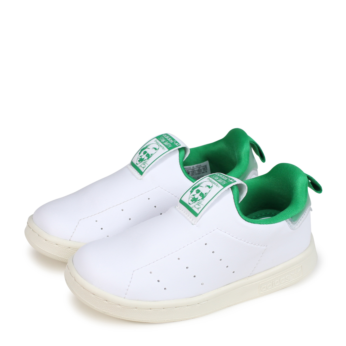 online retailer edea1 d537f adidas Originals STAN SMITH 360 I Adidas originals Stan Smith baby sneakers  AQ1112 white [load planned Shinnyu load in reservation product 10/12 ...
