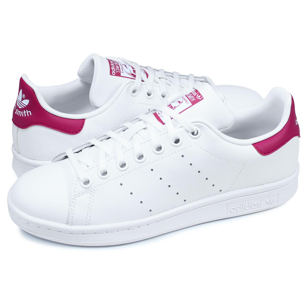 size 40 b75a6 c7f45 adidas Originals STAN SMITH J Adidas originals Stan Smith sneakers Lady's  white white B32703 [8/16 reentry load] [198]