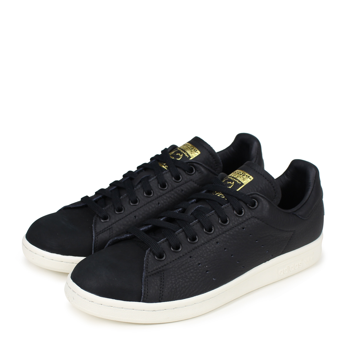 b2c6662c0961 adidas Originals STAN SMITH PREMIUM Adidas originals Stan Smith sneakers  men gap Dis B37901 black  load planned Shinnyu load in reservation product  8 14 ...