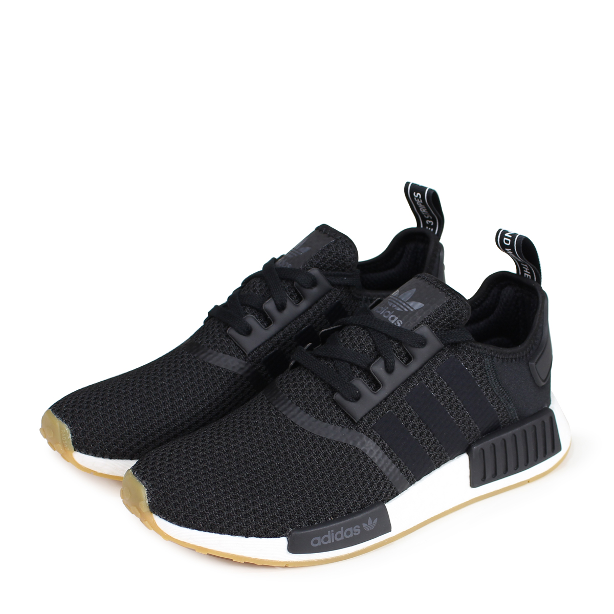 adidas Originals NMD R1 Adidas originals sneakers N M D nomad men B42200 black [77 Shinnyu load] [187]