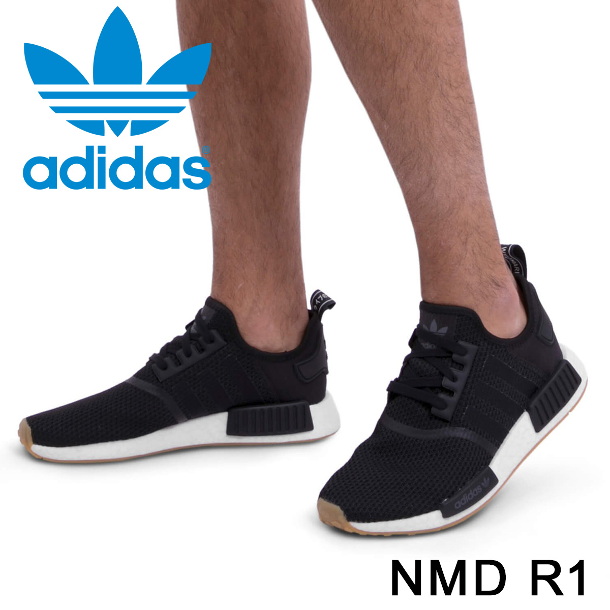 wholesale dealer af2d2 92b4b adidas Originals NMD R1 Adidas originals sneakers N M D nomad men B42200  black [7/7 Shinnyu load] [187]