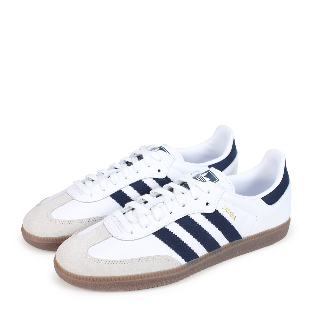 adidas Originals SAMBA OG Adidas originals samba sneakers men B75681 white [load planned Shinnyu load in reservation product 1018 containing] [1810]