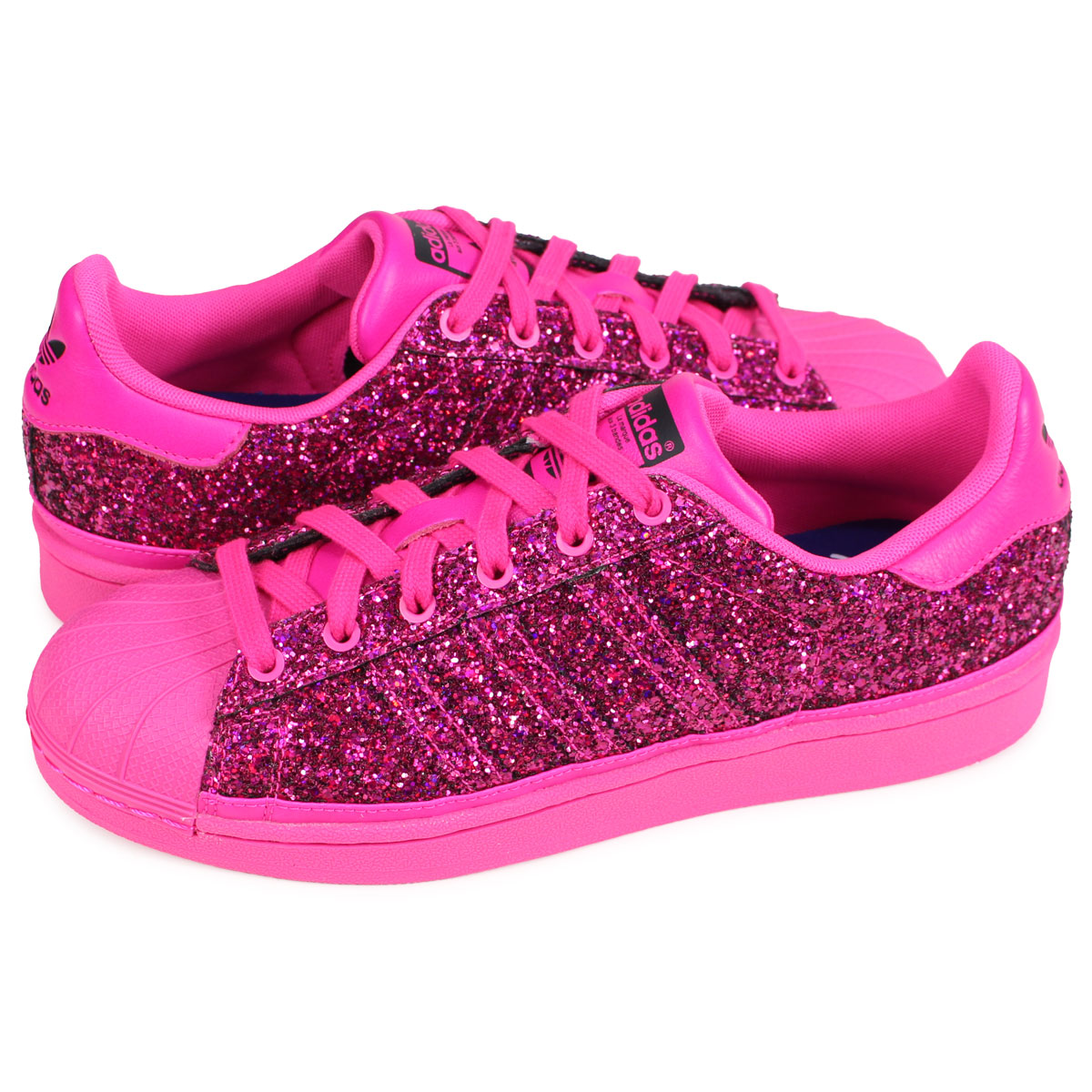 3b255ebb8be adidas Originals SUPERSTAR W Adidas originals superstar sneakers Lady s  pink BD8058  1 18 Shinnyu load   191