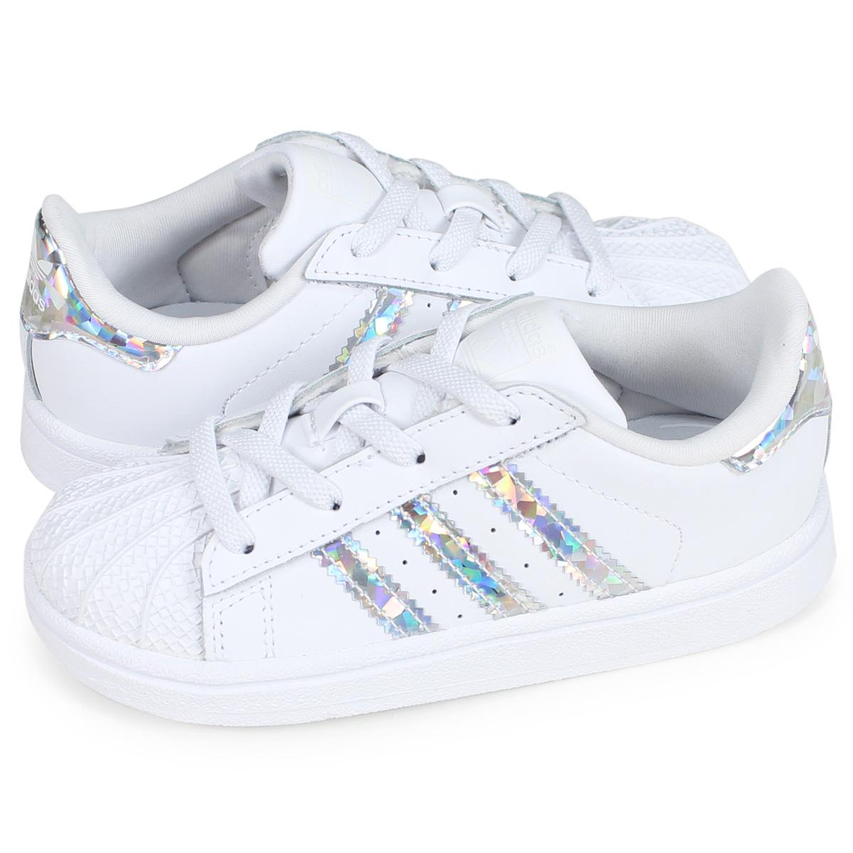 adidas Originals SUPER STAR EL I Adidas originals superstar sneakers baby white CG6707