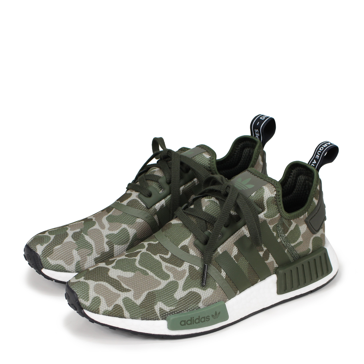 new style 28423 3c16f adidas Originals NMD R1 Adidas originals sneakers N M D nomad men D96617  green  load planned Shinnyu ...