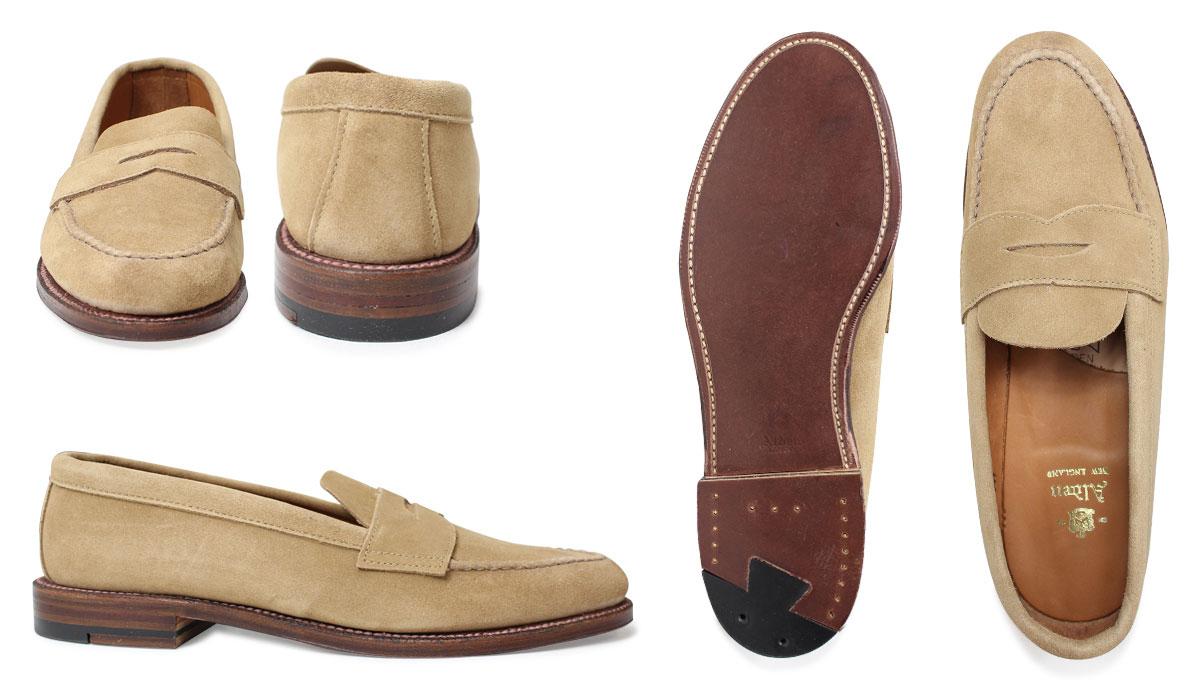 37e04ceb60e ALDEN Alden loafer men shoes HANDSEWN FLEX PENNY LOAFER WITH UNLINED VAMP D  Wise 6244F  1 13 Shinnyu load