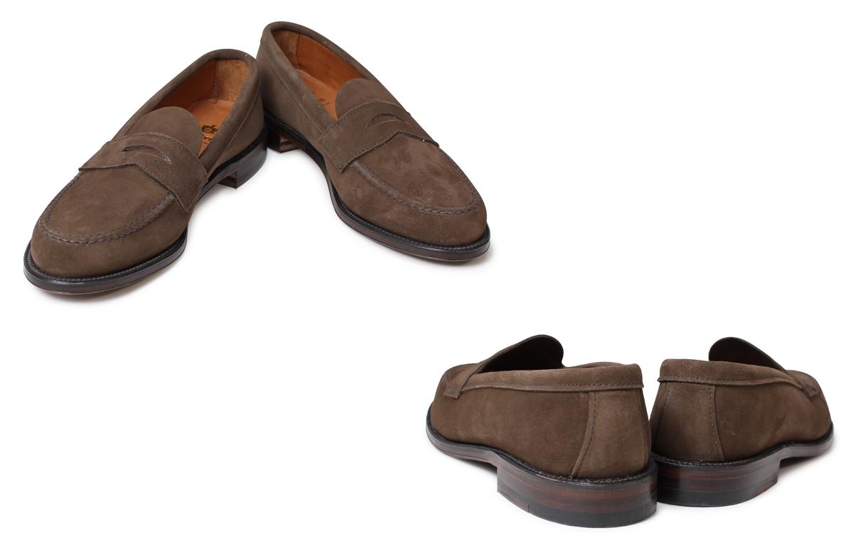ALDEN奥爾登低毛皮人鞋HANDSEWN FLEX PENNY LOAFER WITH UNLINED VAMP D懷斯6245F[1/13新進貨]