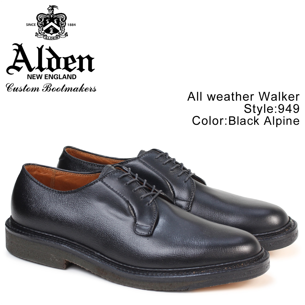 ALDEN ALL WEATHER WALKER オールデン シューズ メンズ Dワイズ 949