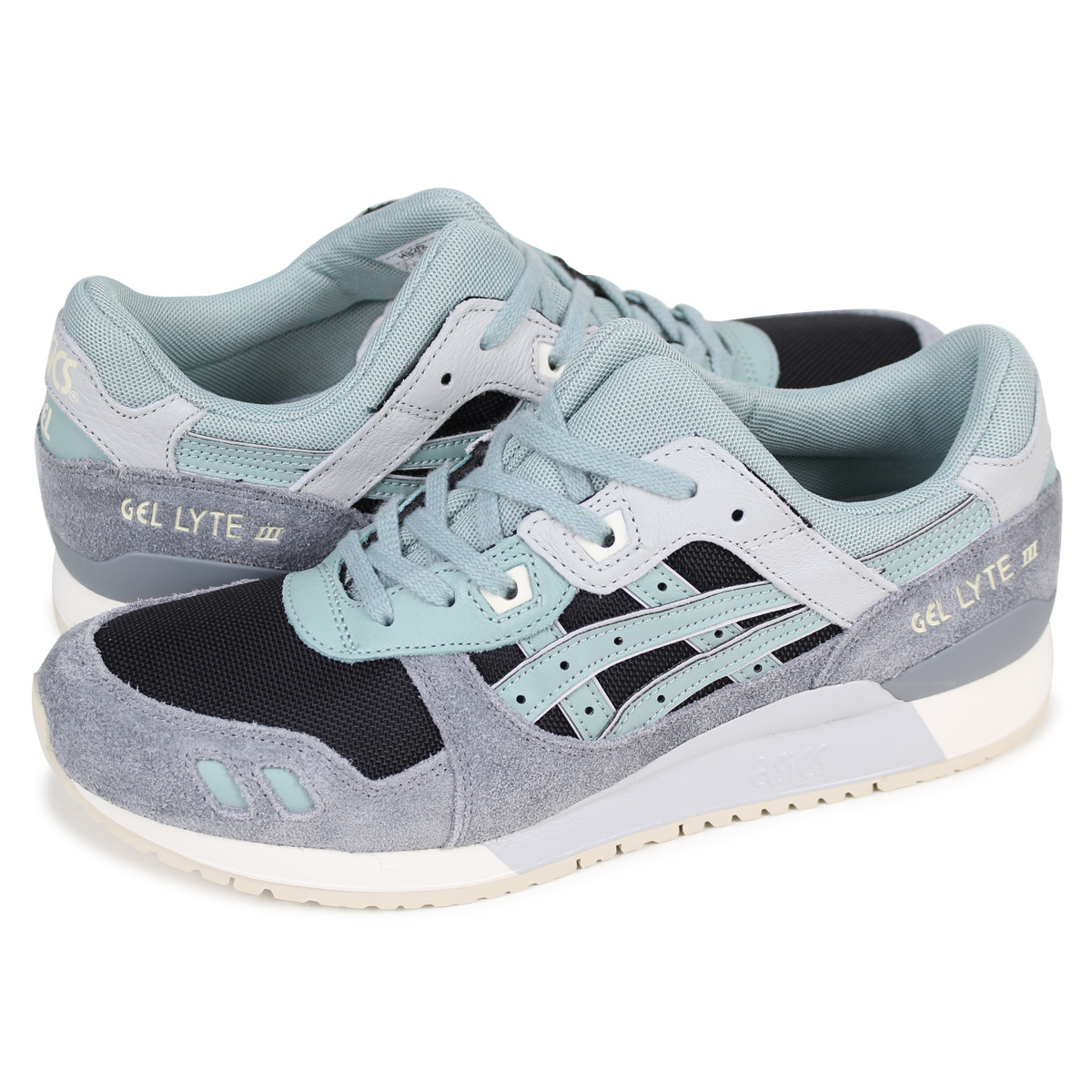 wholesale dealer bdf5b c0284 asics Tiger GEL-LYTE III ASICS tiger gel light 3 sneakers H820L-9046 men  blue [2/20 Shinnyu load] [182]