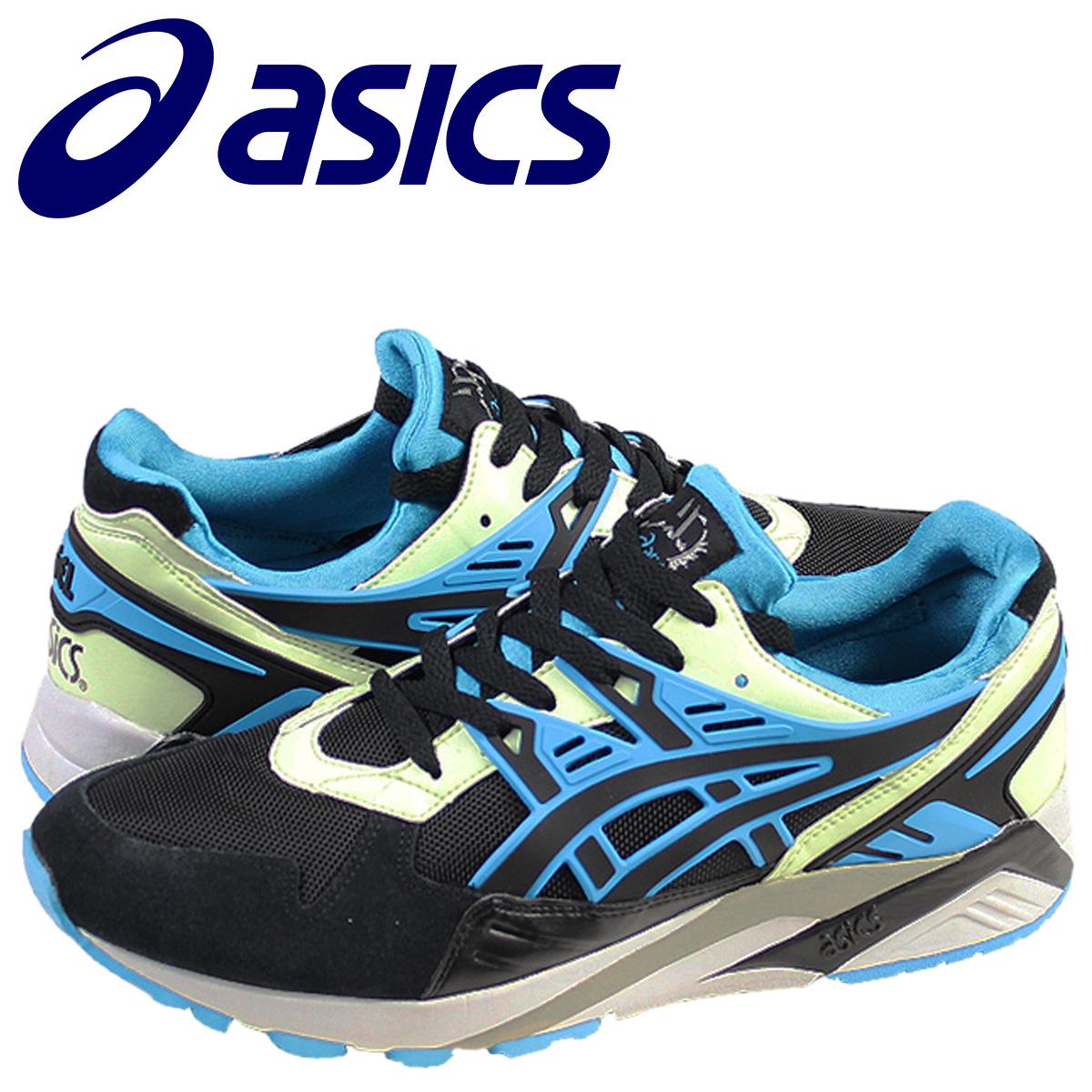 64661ec62b94 ASICS asics GEL-KAYANO sneakers gel Kaya-suede x mesh mens 2014 new TH  442N-9041 black × blue  11   17 new in stock   regular
