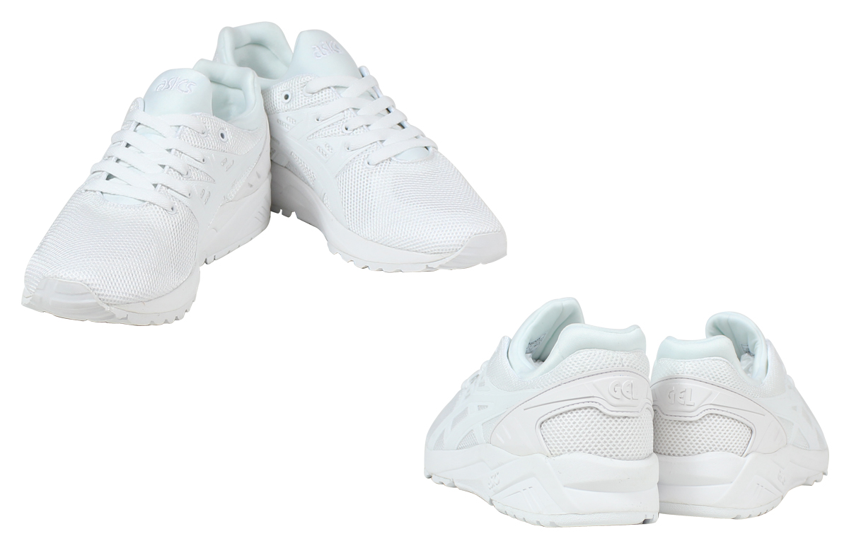 fd7d53ae4b5a ASICS Tiger asics Tiger gel Shinshu(Nagano) Trainer sneakers GEL-KAYANO  TRAINER EVO TQ6D 0N-0101 men s women s shoes white