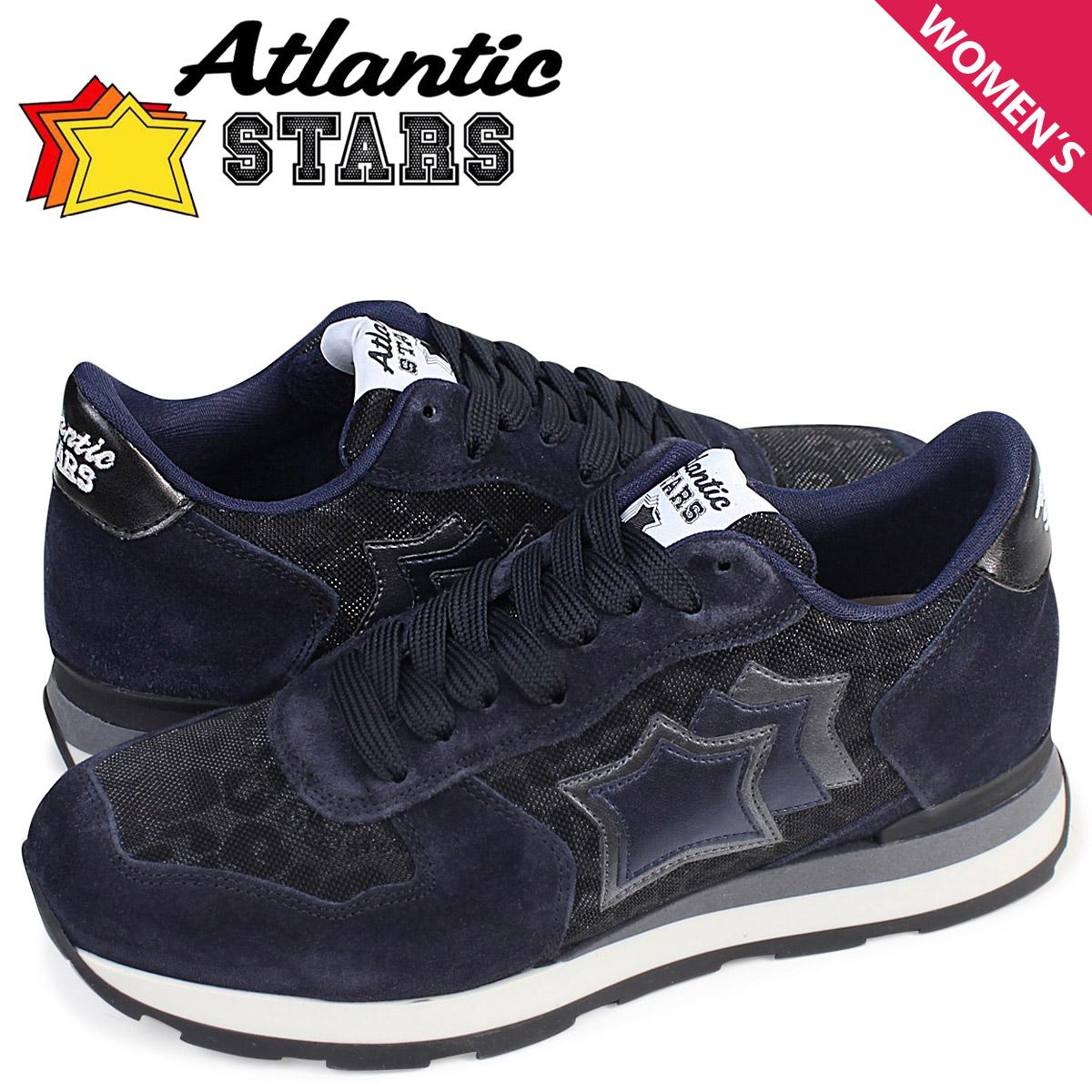 Atlantic STARS VEGA アトランティックスターズ レディース スニーカー ベガ ANY 81N 靴 ネイビー