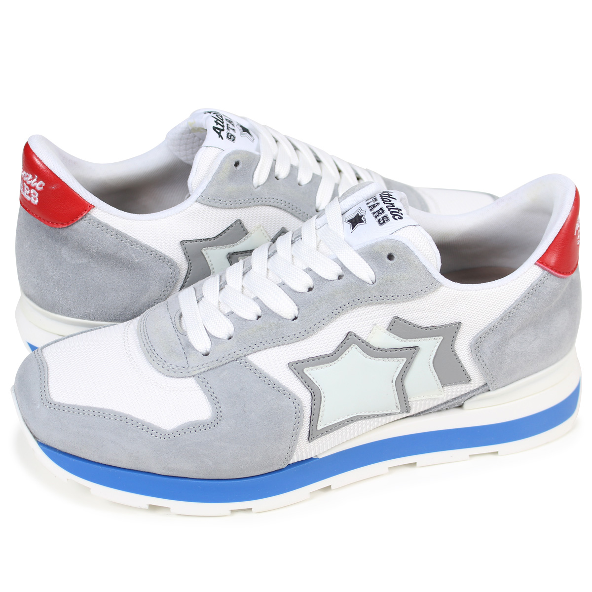 Light gray Antares sneakers Atlantic Stars WxCwp1TXx