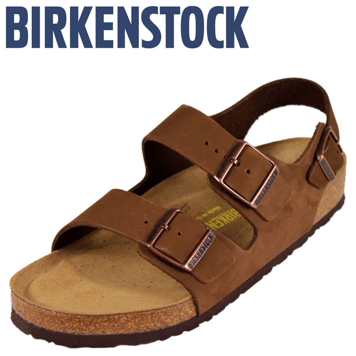 [卖出] 勃肯勃肯米兰米兰 [正常宽度软鞋垫磨砂,男装女装凉鞋房间鞋男女皆宜