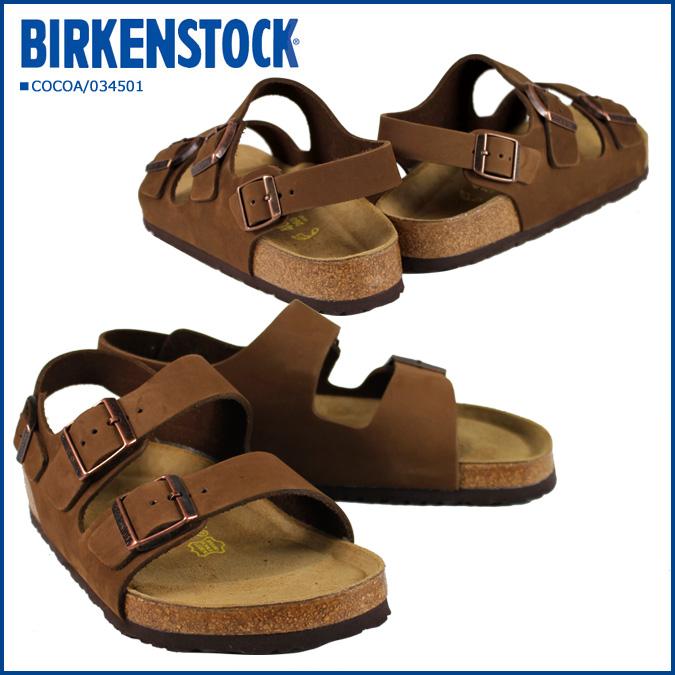 [售罄] 勃肯勃肯米蘭 vilken 涼鞋正常寬度米蘭軟鞋墊男式女式
